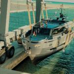 На днях была спущена на воду 26-метровая яхта EXTRA-86 HAZE